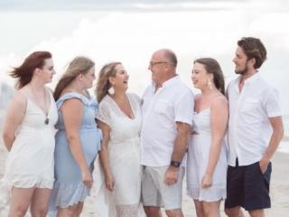 Beach Family Portrait Gold Coast