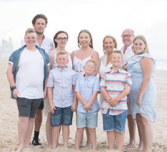 Gold Coast Family Portrait