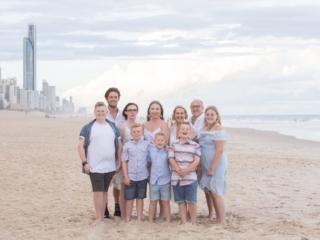 Gold Coast Family Portrait Photographer Beach