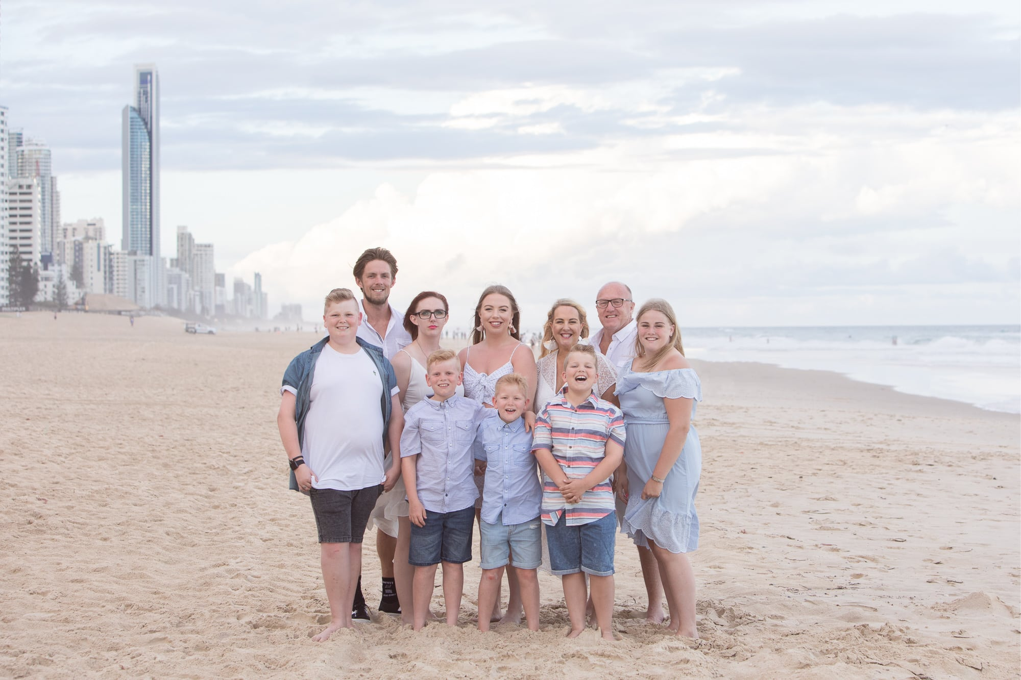 Gold Coast Family Portrait Photographer Beach