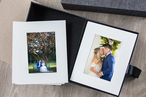 A4 Matted Print Wedding