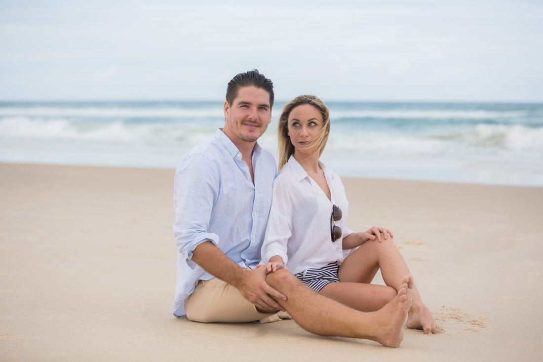 Beach Engagement Photoshoot
