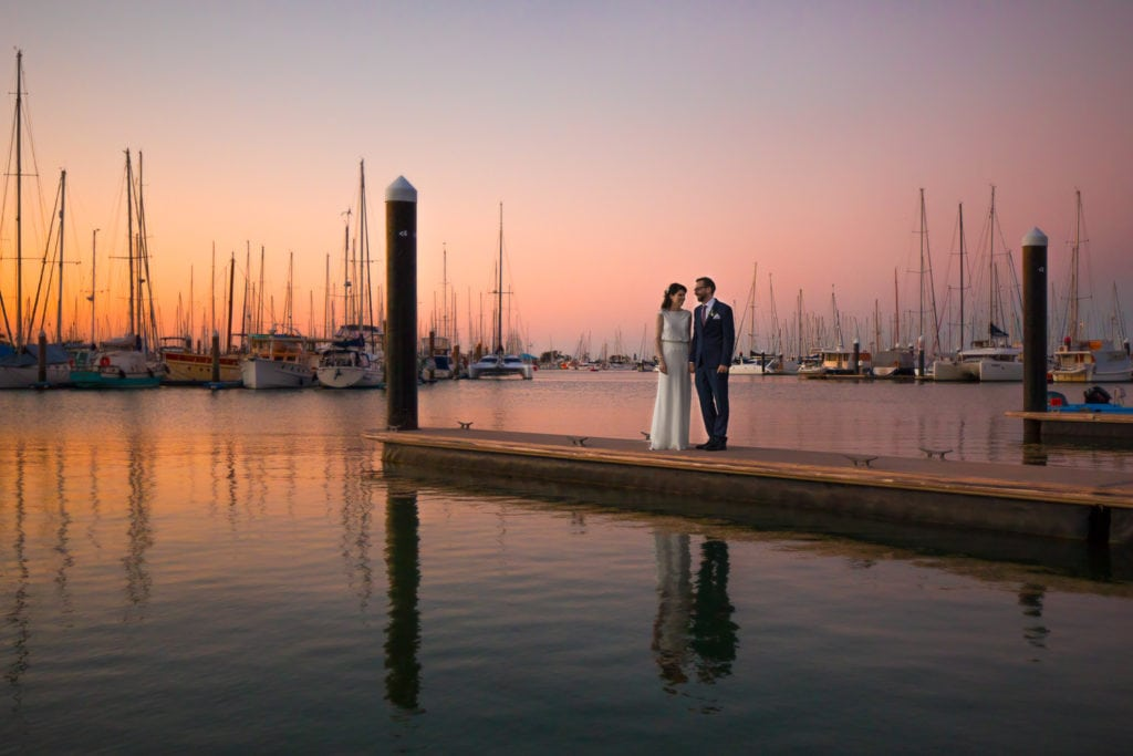 Wellington Point Wedding Photography at Royal Qld Yacht Squadron