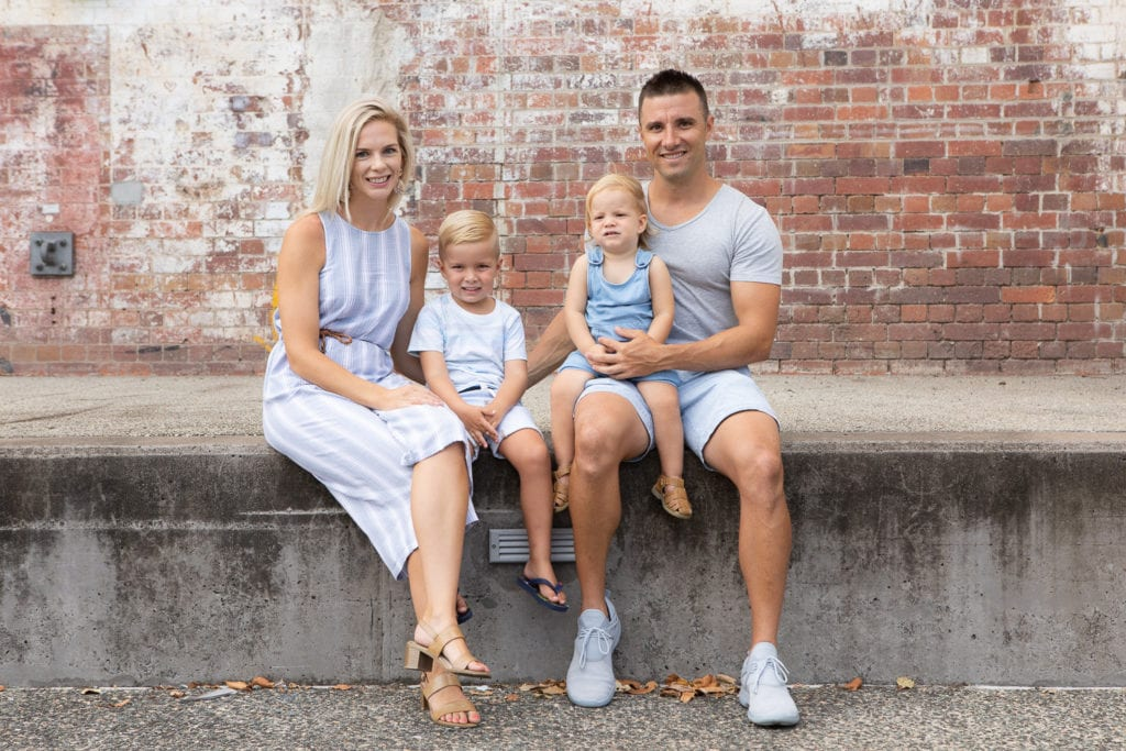 Family Portrait Photography Newfarm Park Brisbane